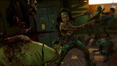 the walking dead michonne 450 aislk