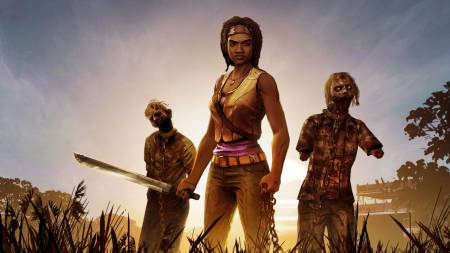 the walking dead michonne 450 aoslk